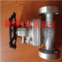 供应Z41W-160P 304材质锻打高压法兰闸阀