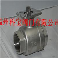 DN32 SUS316 1000WOG 二片式螺纹高平台球阀