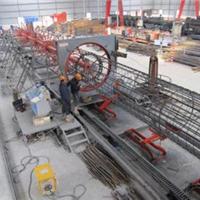 供应  钢筋笼滚焊机   全自动钢筋笼滚焊机