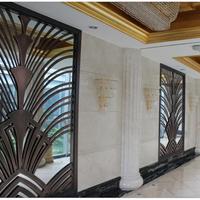 供应走廊古铜色通风装饰屏风厂家