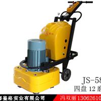 上海建松浙江杭州12磨头固化地坪打磨机器潍坊地坪研磨机山东