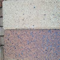 供应供应铁锈色,咖啡色广场景观砖