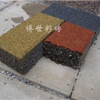 供应路面硬化能否铺上透水砖