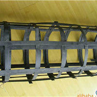 抗拉强度≥50KN 双向钢塑格栅