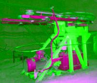 供应煤矿井下架空乘人装置