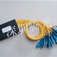 供应1*4SC插片式分光器,1*64SC盒式分光器
