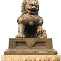 供应铜狮子 石雕狮子 门口摆放狮子的寓意