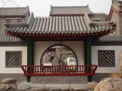 古建筑四合院,垂花门,亭子