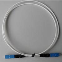 供应室内皮线光缆,20米白色FC室内皮线跳纤