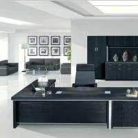 供应海景HJ-9688黑色办公桌