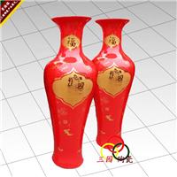 供应雕刻兰白釉观音大花瓶