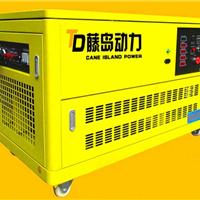 供应燃气发电机  20千瓦天然气汽油发电机
