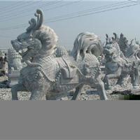 供应石雕麒麟,石狮子,石雕抱鼓石、貔貅