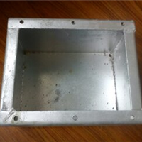 180*150*120人防密闭接线盒可定制
