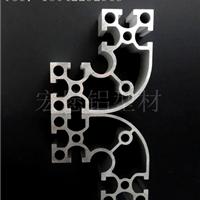 工业铝型材8840国标电泳圆弧R 工作台 框架 自动化设备