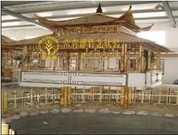 供应竹篱笆墙 竹建筑 竹艺特色 组合竹屋