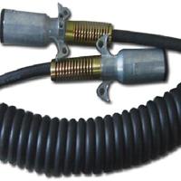 供应7芯拖挂车ABS防抱死系统弹簧电缆