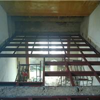 青岛楼梯厂房隔断消防楼梯网点楼梯钢结构隔层吊铺