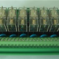 PLC输出保护板鸿怡威继电器模组厂家