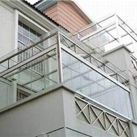 东莞塘厦阳台玻璃护栏楼梯扶手制作安装