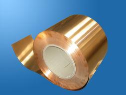无氧紫铜带 德国无铅CuZn30黄铜带镀锡厂家
