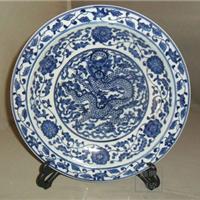 供应陶瓷纪念盘,手工青花纪念盘