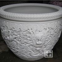 供应手工微雕陶瓷大缸