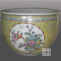 供应陶瓷大缸,粉彩陶瓷大缸