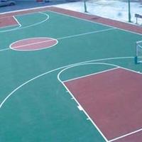 南京塑胶篮球场施工