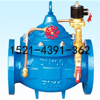供应铸铁法兰600X水力电动控制阀-DN25 DN32
