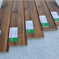 表面碳化木扣板樟子松炭化扣板桑拿板背景板
