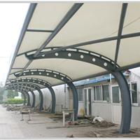 膜结构公司安装服务-北京旅游学院停车棚