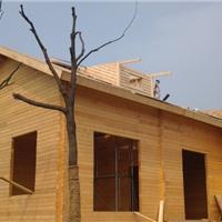 供应木屋别墅的建造过程 木房子