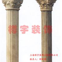 供应GRC罗马柱、欧式罗马柱、GRC檐口线脚