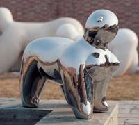 供应不锈钢雕塑,锻铜雕塑,北京景观不锈钢