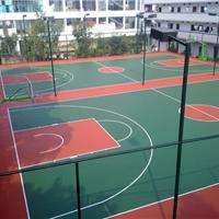 金华塑胶篮球场厂家价格