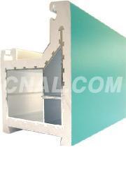 供应各型号铝塑共挤型材及门窗