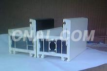区别于塑钢的钢塑、铝塑共挤型材报价