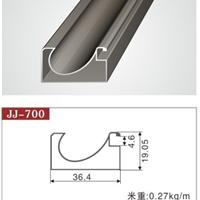 供应晶钢门铝材JJ-700