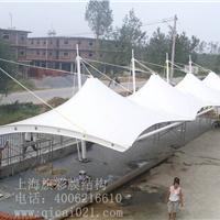 西北最大的膜结构工程 膜结构停车棚