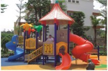 供应别墅儿童游乐园,社区滑梯,幼儿园玩具