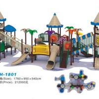 供应小区儿童滑梯,大型玩具,小区游乐架厂