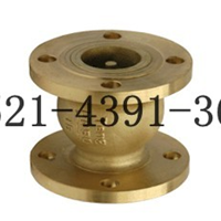HC41X-16T型消声止回阀-黄铜法兰消声止回阀