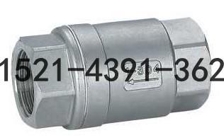 H12W-16P不锈钢丝扣立式升降式止回阀