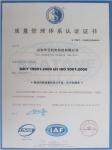 ISO9001:2000质量体系认证