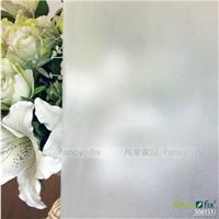 玻璃贴厂家供应 凡菲PVC静电磨砂玻璃贴