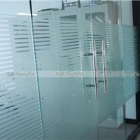 凡菲无胶玻璃贴膜 条纹PVC静电膜