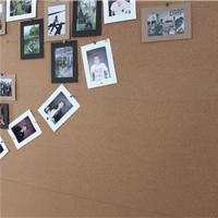 软木贴厂家 凡菲欧美品质带胶软木墙板卷材