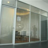 供应烟台威海滨州双层玻璃百叶隔断办公玻璃隔断铝合金隔断