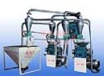 28B型双台面粉组-自动上料自动循环